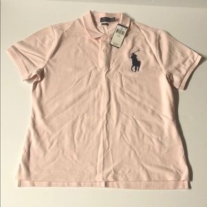 Men's Pink Polo Shirt